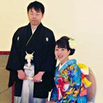 花嫁様の本振袖/徳島県の着付け屋・藍ぞの