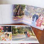 紅葉の時期の婚礼撮影