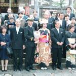 自宅での花嫁お支度/日本の婚礼