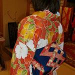 徳島の着付け教室 - アンティークに着こなす生徒さん
