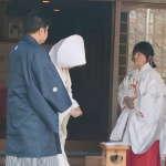 忌部神社での挙式